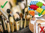 The things you can and can't put in the dishwasher revealed - including makeup brushes and dog toys