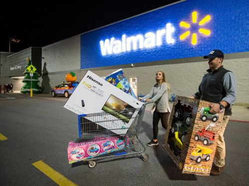 Walmart is kicking off Black Friday sales this week and touting free, next-day delivery as it gears up for a record-short holiday shopping season