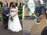 Bride who was quoted £30,000 for a castle wedding reveals how she cut costs to £9,000