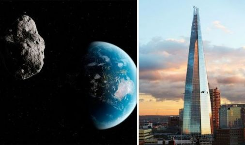 Asteroid bigger than the Shard and 'potentially hazardous' set to pass Earth