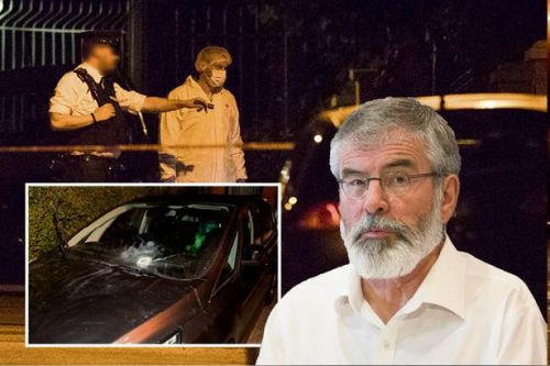 Gerry Adams' home attacked with 'explosive device' as 'New IRA' turn on Republican icon