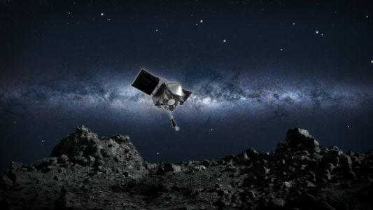 Today's the big day for NASA's mission that seeks to pluck asteroid dust
