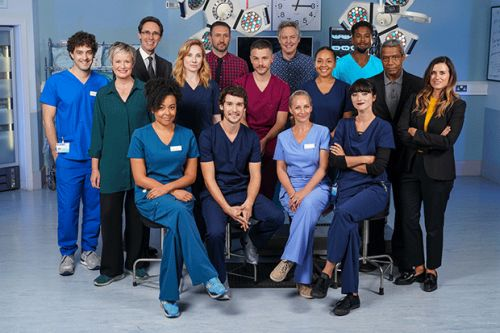 Meet the cast of Holby City