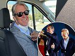 'Succession' star Alan Ruck drives White House reporters in Biden's motorcade during Californiatrip