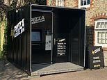 PIZZA vending machine has customers line up for £9.95 treats at touch of a button