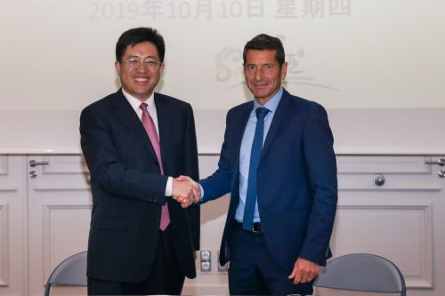 Sanya deepens cooperation with friendly city Cannes, France