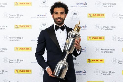 Liverpool forward Mohamed Salah wins PFA Player of the Year award ahead of Manchester City's Kevin De Bruyne