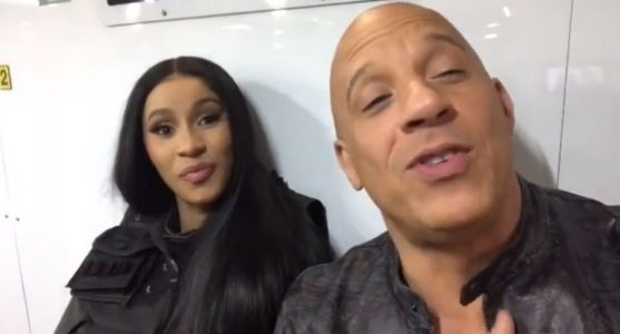 Cardi B joins Furious 9 and hangs with Vin Diesel on set while teasing: 'This is the best one yet'