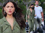 Eiza Gonzalez is seen for the first time with her professional lacrosse player boyfriend Paul Rabil