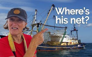 Followtheboat: How to avoid snagging fishing nets while sailing
