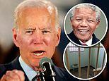 Joe Biden claims he was arrested in South Africa while trying to visit Nelson Mandela