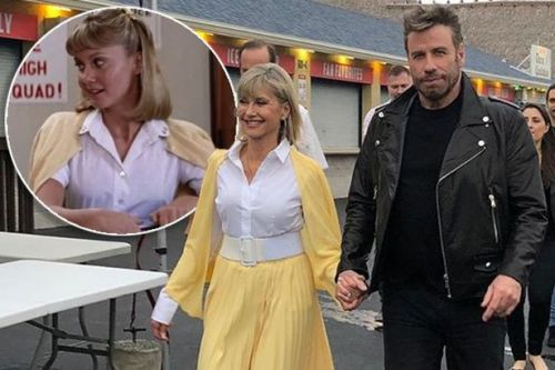 John Travolta and Olivia Newton-John play Grease characters for first time in 41 years