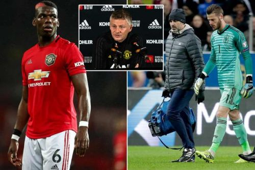 Ole Gunnar Solskjaer provides David de Gea update as he's ruled out of Liverpool clash