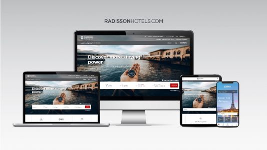 Radisson launches new multi-brand website and app