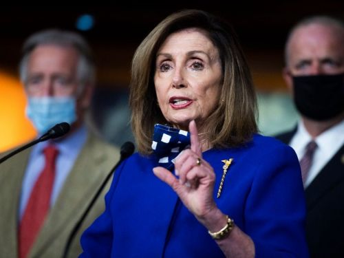 A doctored video that makes Nancy Pelosi appear drunk went viral on Facebook - again