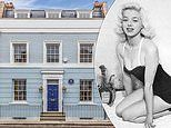 London home where Diana Dors entertained A-list celebrities as well as the Kray twins goes on sale