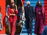Meghan Markle channels Michelle Obama's inauguration outfit in New York