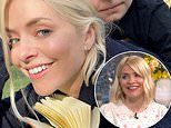 Holly Willoughby wows in selfie with Chester and reveals she's having ANOTHER week off This Morning