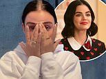 Lucy Hale tears up and gets emotional in a video to fans about Katy Keene being cancelled