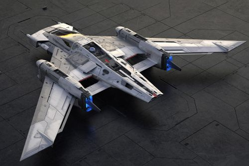 Porsche and Lucasfilm unveil concept Starfighter