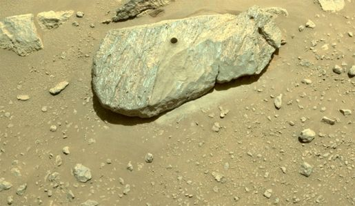 After an initial failure, Perseverance collects Martian rock sample