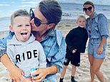 Coleen Rooney cuddles up to her sons on a beach in first Instagram post since Wayne's hotel scandal