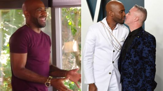 Queer Eye's Karamo Brown reveals 'wild' sex life with fiance during Selling Sunset cameo