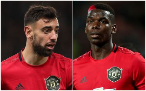 Paul Pogba says Manchester United's attack with Bruno Fernandes is 'beautiful'