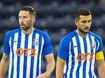 Europa League: Kilmarnock 0-2 Connah's Quay Nomads as Angelo Alessio forced to apologise