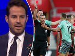 Jamie Redknapp insists Lucas Digne should NOT have been sent off in Everton's defeat by Southampton