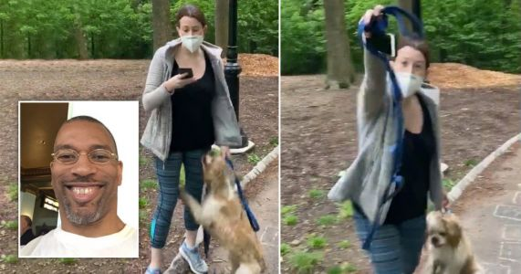 White woman calls police on black man after he asked her to put dog on lead