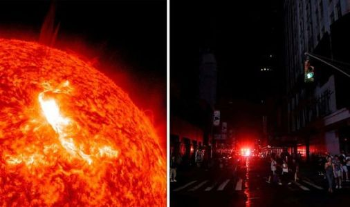 Solar storm WARNING: New York could be without power for TWO years in event of major storm