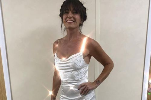 The Masked Singer judge Davina McCall steals the show in stunning £750 gown