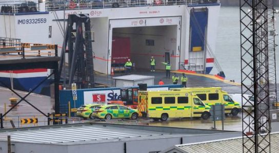 16 people discovered in sealed trailer on ferry sailing from France to Ireland