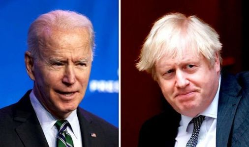 Boris and Biden 'have destiny of world on their shoulders' as PM to strike US trade deal