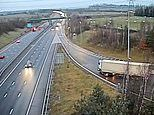 HGV driver who took wrong M6 exit does U-turn on slip road is jailed for six months