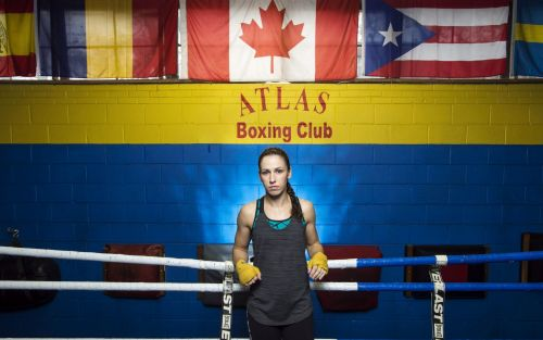 Mandy Bujold, the boxing mother in a legal fight to qualify for the Tokyo Olympics