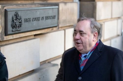 Alex Salmond appears in Edinburgh court accused of attempted rape and sexual assault