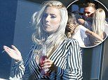Love Island's Erin Barnett puffs on a cigarette at booze-filled reunion party in Sydney