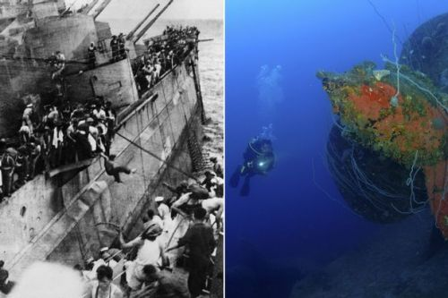 British ships sunk during Second World War plundered for scrap metal by pirate grave robbers