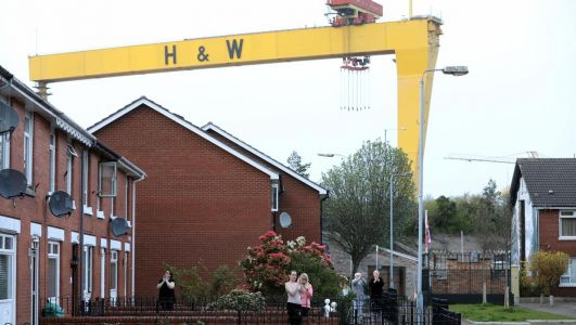Clap for Carers: Harland and Wolff horn sounds out for first time in two decades to show support for NHS staff