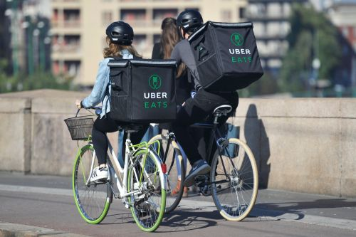 Deliveroo and UberEats riders could get bike number plates to stop 'reckless' cycling