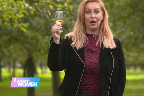 Josie Gibson gobbles spider by accident after getting tipsy on cider on live TV