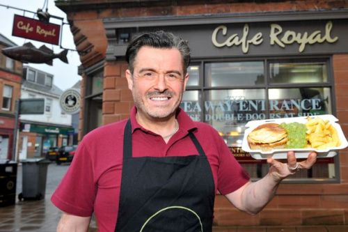 Generous chippy offering free meals to those in need