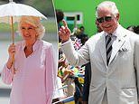 Prince Charles andThe Duchess of Cornwall arrive in St Vincent and Grenadines looking holiday ready