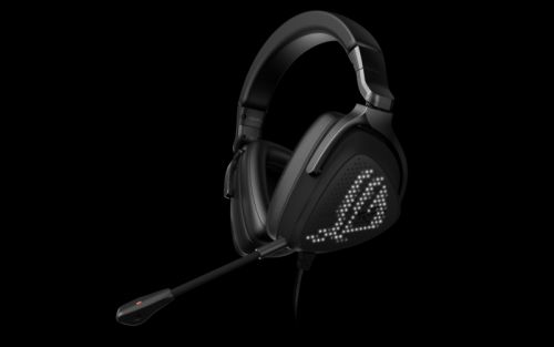 Like pixels to my ears: Asus headset uses mini LEDs to animate earcups