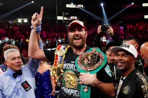 Tyson Fury's promoter maps out fighter's route to becoming undisputed world champion