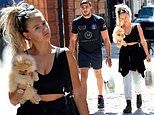 Love Island's Molly-Mae Hague cradles new Pomeranian pup Mr Chai