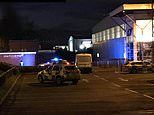 Gunman spotted on the roof of a Tesco supermarket in Shrewsbury