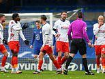 Luton players left furious after TWO BALLS were on the pitch before Tammy Abraham's goal for Chelsea